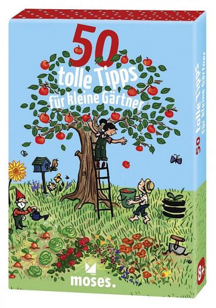 Kartenset 50 tolle Tipps für kleine Gärtner
