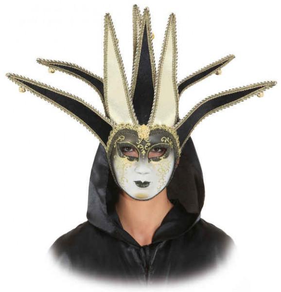 Venezianische Karnevals Maske mit Glöckchen