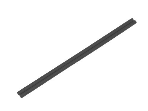 Devilstick Handstäbe 12mm - schwarz
