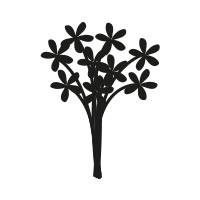Ministempel Blumenstrauss