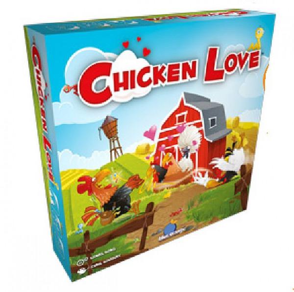 Hahn im Korb - Chicken Love, Familienspiel