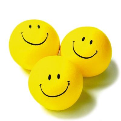 Latex Beanbag Smileface - Preis für 1 Stk