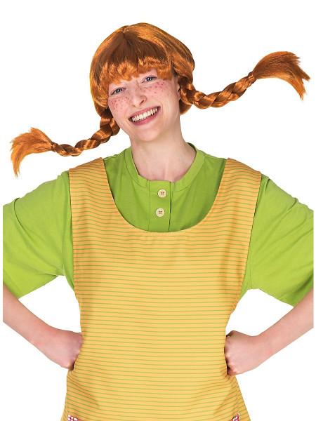 Original Pippi Langstrumpf Perücke für Erwachsene