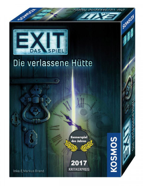 EXIT Verlassene Hütte - Kennerspiel des Jahres 2017 - Level 2/3