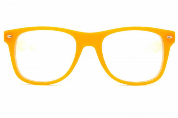Regenbogenbrille Effektbrille - Ultimate UV Orange - GloFX