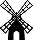 Ministempel Windmühle