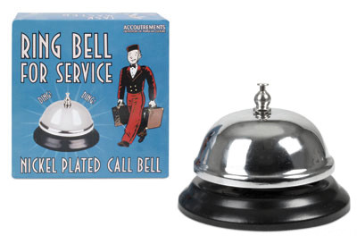 Ring for Service Bell