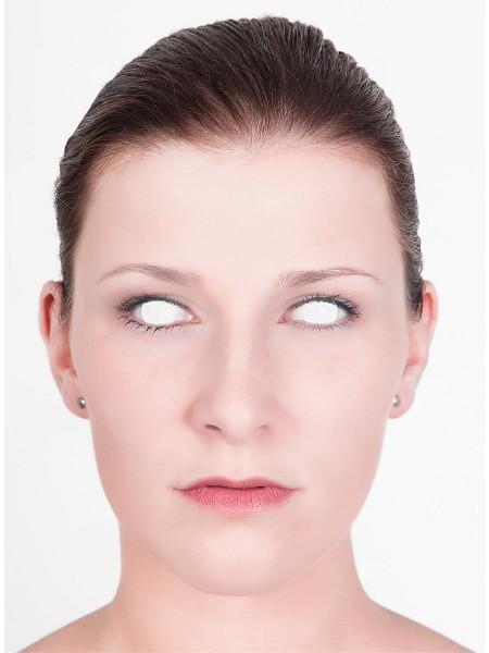 Blinder Seher - weisse Effekt Kontaktlinsen