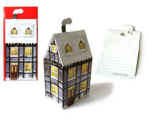 3D Faltkarte - Fachwerkhaus