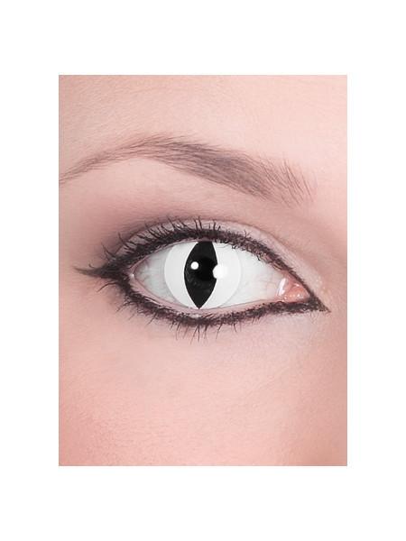 Raubtier weiss - Effekt Kontaktlinsen
