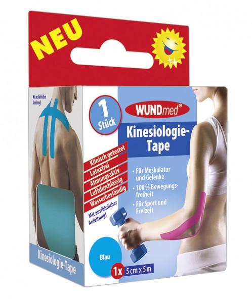 Kinesiologie Tape - Blau-Türkies 5m x 5cm