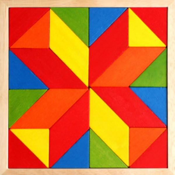 Mosaix - Holzpuzzle Mosaik Spiel für Kinder