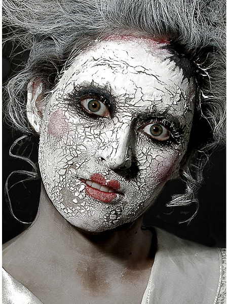 Scary Skin Weiss - Effekt-Creme