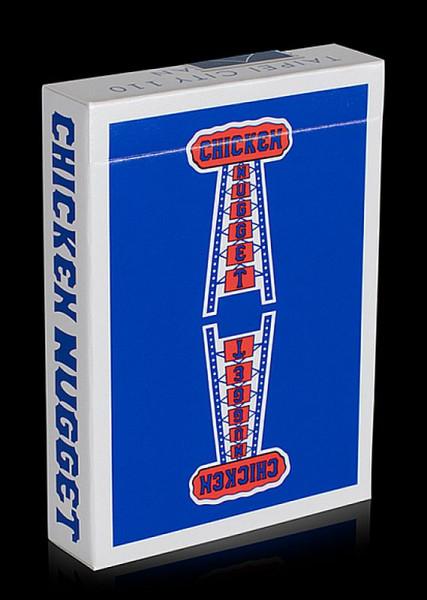 Elite Cardistry Karten - Chicken Nugget - Blau