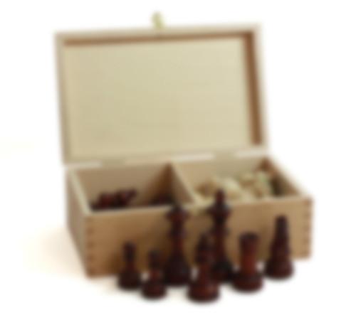 Schachfiguren Set - Grösse 2 / König 70mm